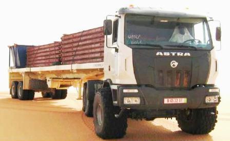 Astra 6x6 desert truck HHD 8