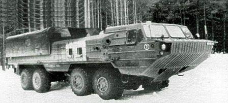 BAZ-6944, 8x8, amphibious