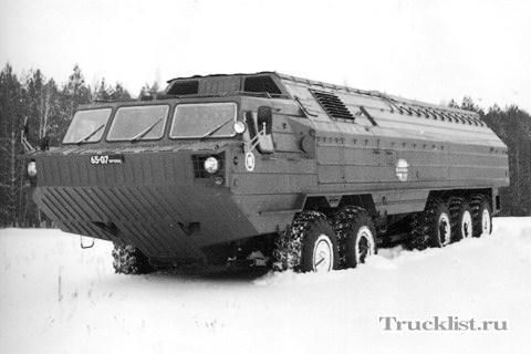 BAZ-69481M 10 × 8 amphibious