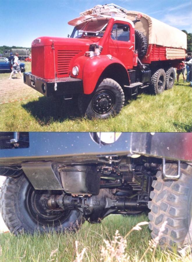 Berliet Gazelle GBC 6x6