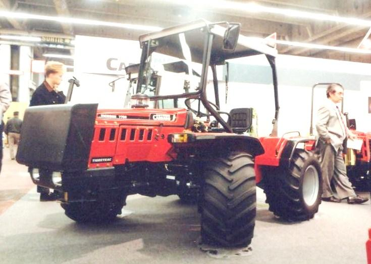 Carraro 4x4 articulated agricultural tractor.