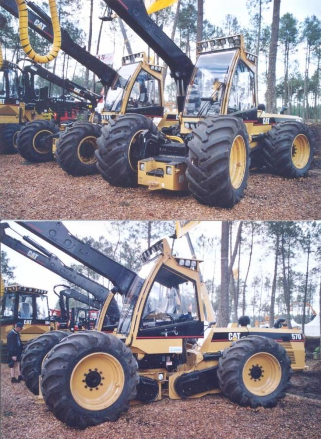 Caterpillar 550 Harvester 4x4