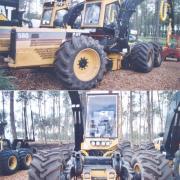 Caterpillar 580 Harvester 6x6