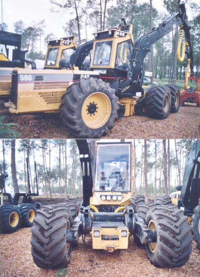 Caterpillar 580 Harvester 6x6