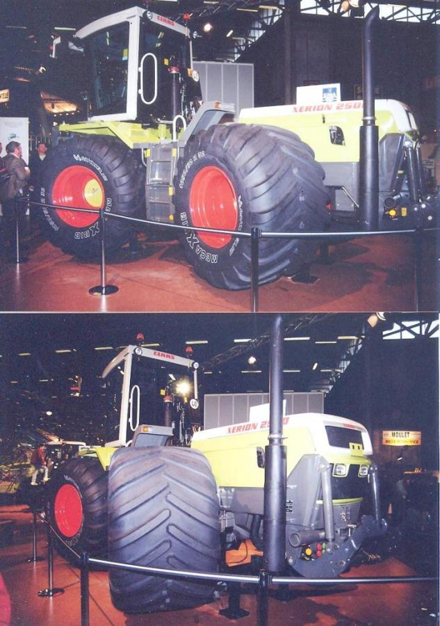 Claas Xerion 2500 tractor