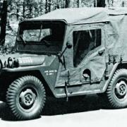 Ford XM 408 6x6, 1958