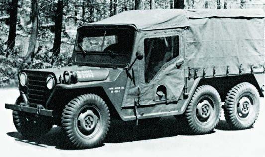 Ford XM 408 6x6, 1958