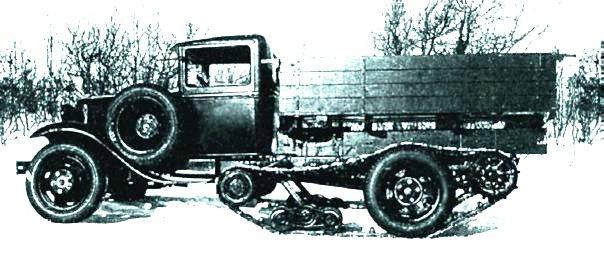 Gaz-65 semi-tracked, 1940