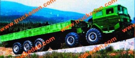 10x10 Sinotruck, Huanghe model