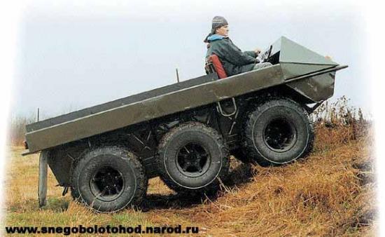 ATV Taïga 6x6
