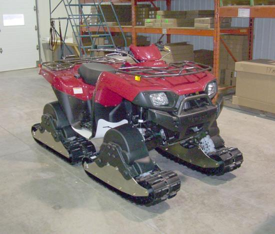 ATV Tracks Giant for Kawasaki Brute Force 750