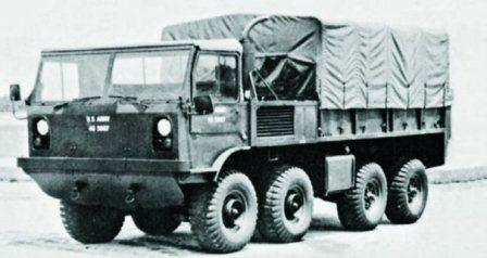 Chrysler XM410E1, 8x8, 1960