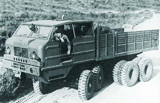 Cook T20  8x8, 1945