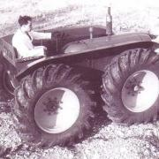 County Four-Drive on trials in 1955