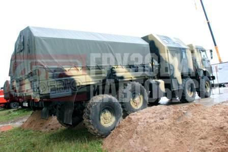 GAZ-29651, 8x8