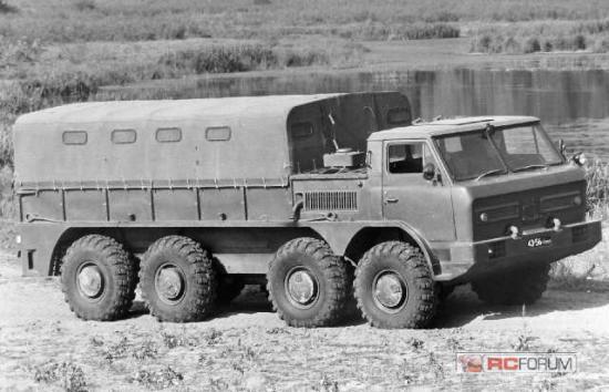 GAZ 44 8x8 1972 Prototype
