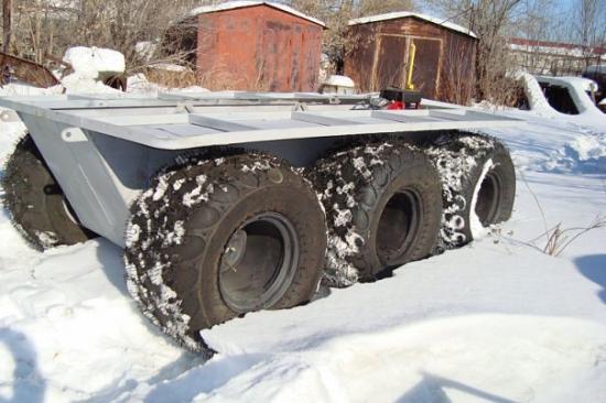 Gastroymashina  Partisan 6x6  ATV