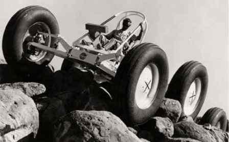 General Motors 6x6 Rover in 1964