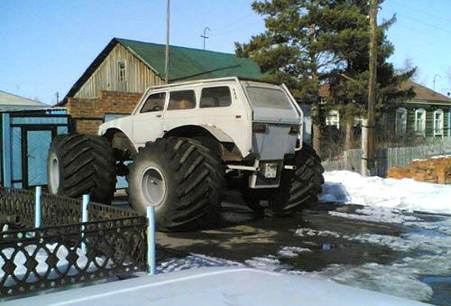Lada Niva 4x4 Monster Truck