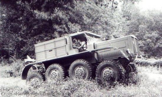 Latil M4TX of 1939