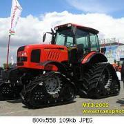 MTZ-2002  Tractor of Minsk Plant in Belarus