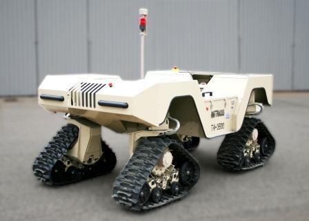 Mattracks T4-3500 robot