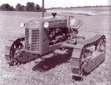 Oliver HG wide track in production until 1951