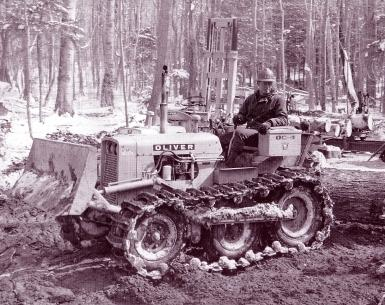 Oliver Model OC-46 diesel dozer