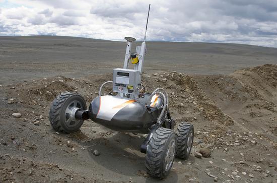 Scarab rover of NASA