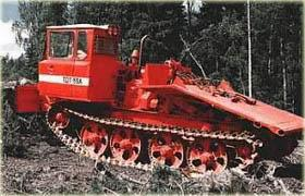 Skidder TDT-55A  http://ru.wikipedia.org/wiki/ТДТ-55_(трактор)