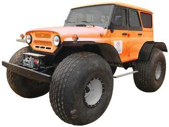 TTM-2903 (4x4) NITRA  Wheelded Rover