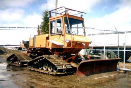 Tucker Sno-cat 1742, Medford, Oregon from 1979