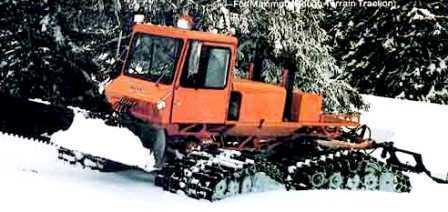 Tucker Sno-cat 1742, Medford, Oregon.
