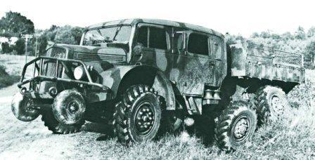 Volvo TVB, 6x6, 1940
