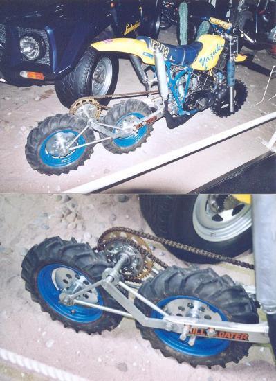 Yazuki 3x2 Motorcycle