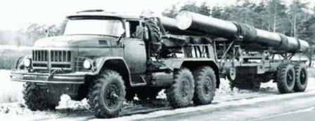 ZIL-137 10x10 articulated truck 1971