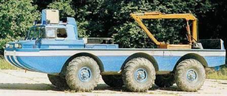 ZIL 4906 Amphibious 6x6