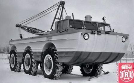 ZIL PSE-1 Amphibious Vehicle, 1966, designed at SKB of V. Gratchev.