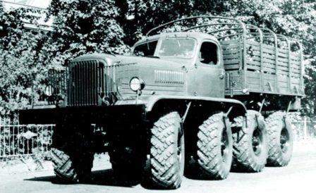ZIS-E134, 8x8, 1955