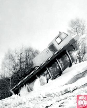 ZIl 4904 Screw Amphibious, 1972