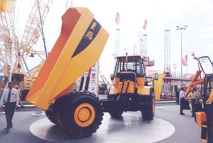 JCB 718 Dumper 2
