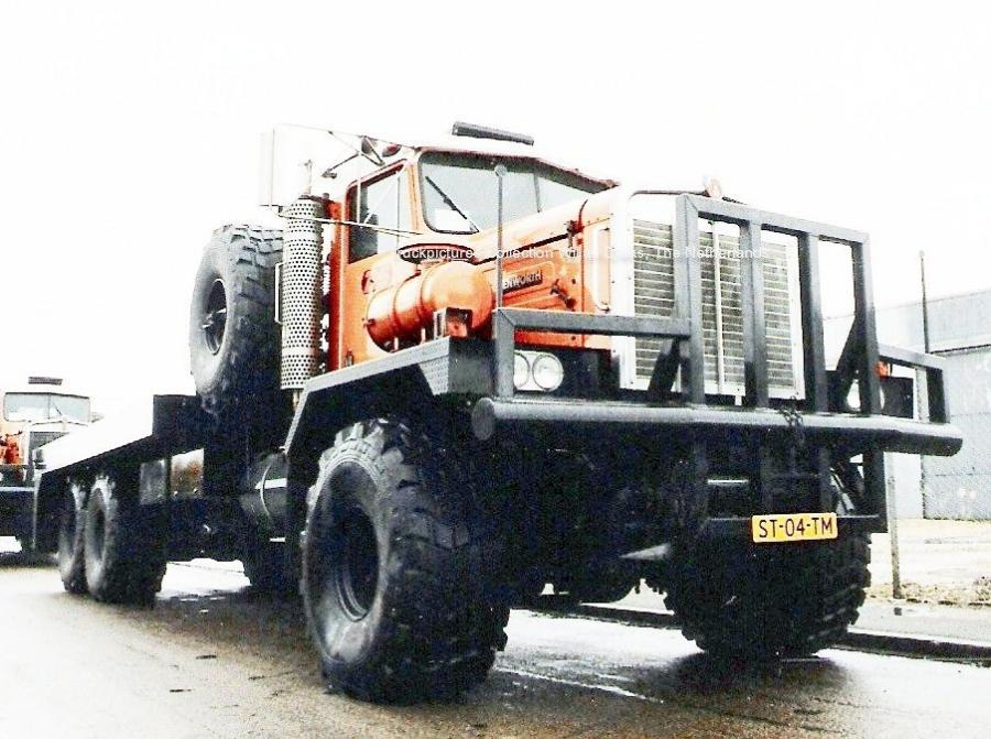 Kenworth C500 for Slumberger in the 80s