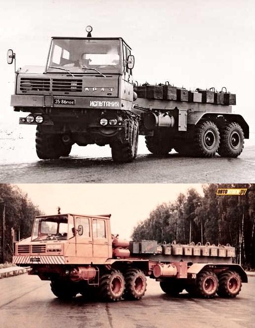 KRAZ-6434-1 8x8