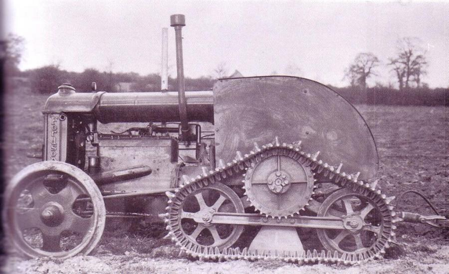 Leamington Half Track Prototype Conversion On Fordson Tractor