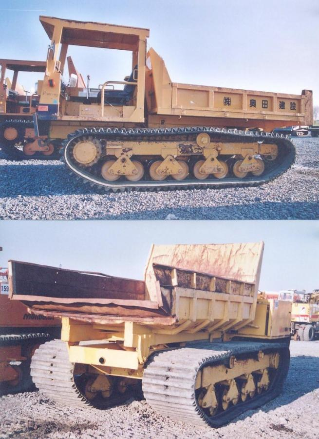 Morooka crawler dumper MST-700