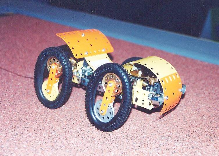Oval wheels like on a Meccano Vehicle