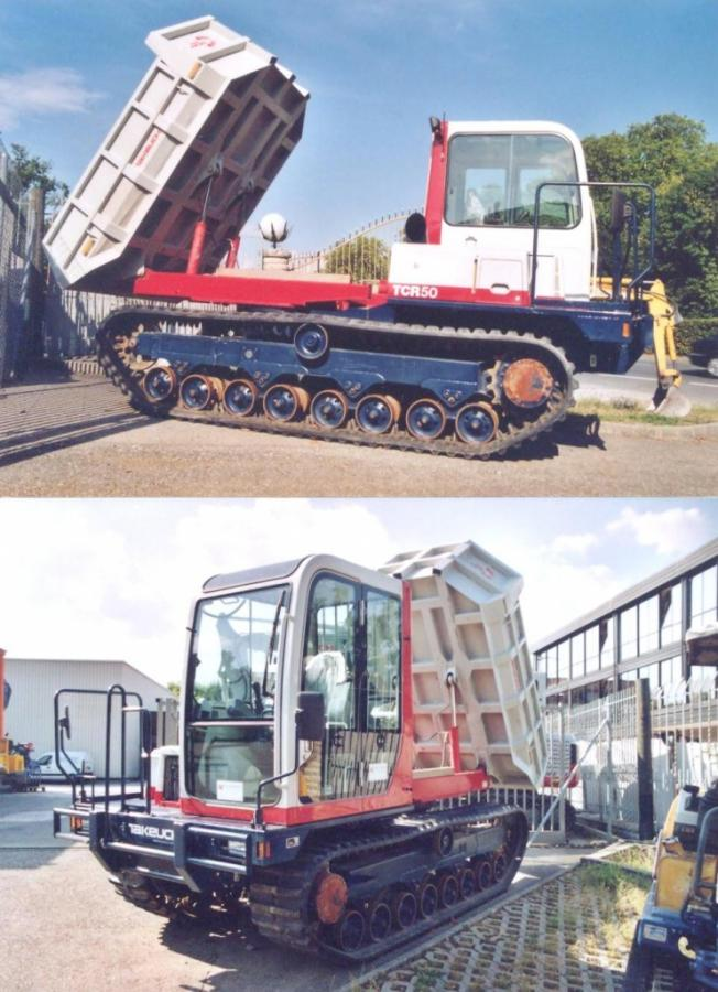 Takeuchi Tracked Dumper