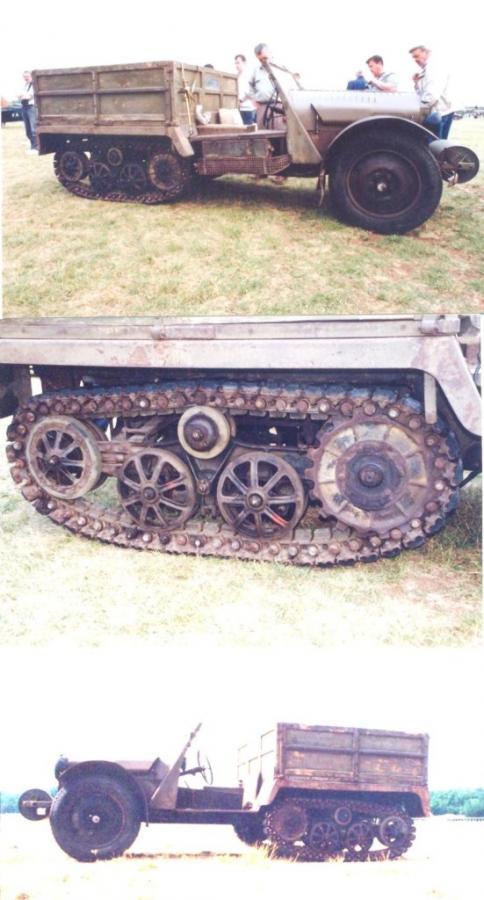 Unic TU 1 Tractor Semi-Tracked 2