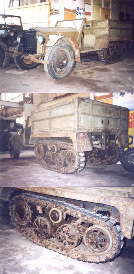 Unic TU 1 Tractor Semi-Tracked