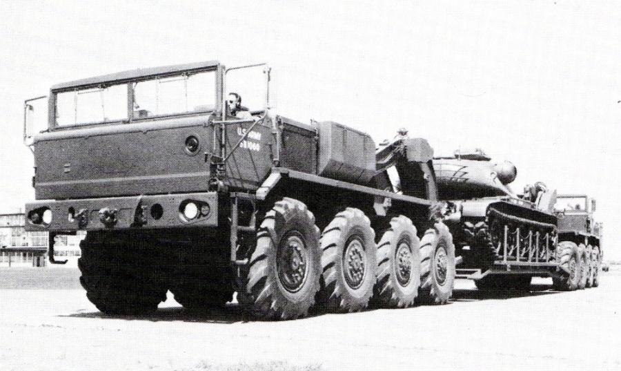 XM376 and XM 377, 1957